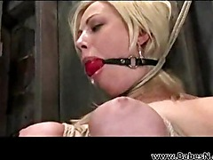 BDSM Blonde its really hard