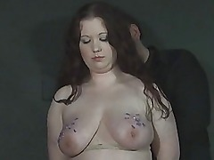Brutal needle bdsm of chubby RosieB in hardcore