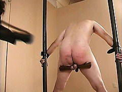 Extreme dominatrix bizarre cock and balls torture