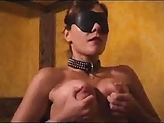 Audrey auditions for bondage