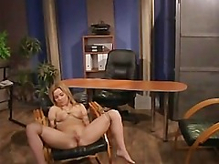 Lezdom office queen toys roped slave
