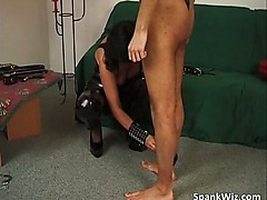 BDSM play with sex mature slut who