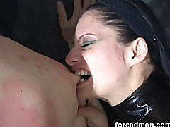 Slave suffers from endless CBT and painful beating