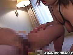 Japanese lesbian BDSM with two hotties