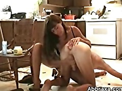 Wife uses a buttplug to give her husband anal pleasure