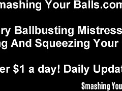 Busting your balls because I can