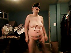 Trying to dance sexily with my nipples weighted