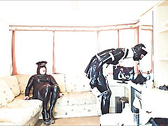 Rubberkate Does her Chores