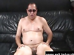 Boss Candy anal dominating her toyboy