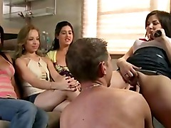 Cfnm amateur femdoms fuck and cumshot