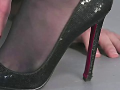 Follow my red soles