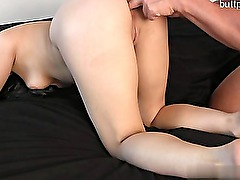 Hot cowgirl anal dildo