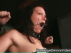 Hot great body sexy horny brunette babe part5